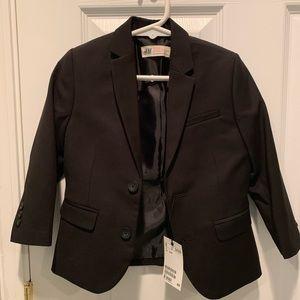 Kids black blazer
